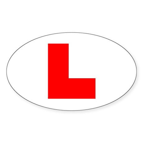 Learner Oval Sticker