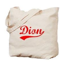 Vintage Dion (Red) Tote Bag