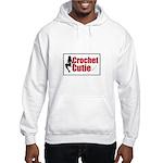 Crochet Cutie - Sexy Retro Cr Hooded Sweatshirt