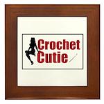 Crochet Cutie - Sexy Retro Cr Framed Tile