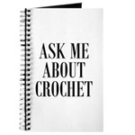 Ask Me About Crochet Journal