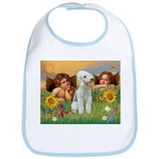 Cherubs / Bedlington Terrier Bib
