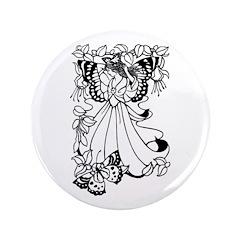"""Fairies 16 3.5"""" Button"""