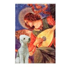 Mandolin/Bedlington Ter Postcards (Package of 8)