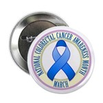 "Colorectal Cancer Month 2.25"" Button"