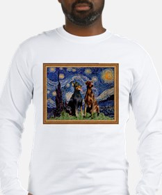 Starry Night & Dobie Pair Long Sleeve T-Shirt