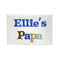 Ellie's Papa Rectangle Magnet (10 pack)