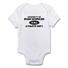 Iron Worker Infant Bodysuit