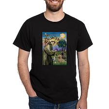 St Francis/Cairn Terrier T-Shirt