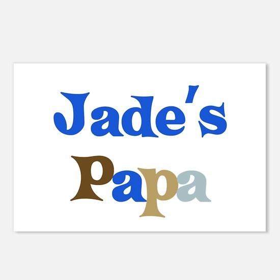 Jade's Papa Postcards (Package of 8)