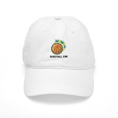 Basketball King Baseball Cap