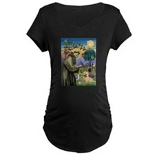 St Francis / Cairn Terrier T-Shirt