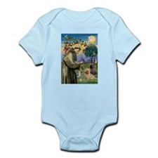 St Francis / Cairn Terrier Infant Bodysuit