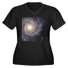 Hubble image of a Spiral Galaxy Women's Plus Size