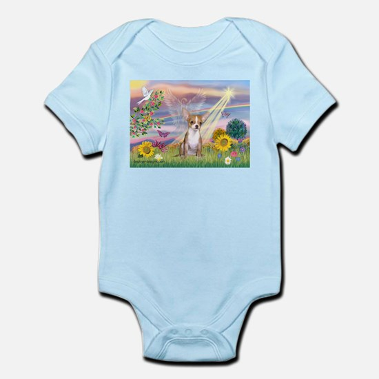 Cloud Angel & Chihuahua Infant Bodysuit