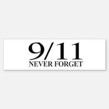 9/11 Never Forget Bumper Sticker (50 pk)