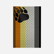 BEAR PRIDE VERTICAL/BRICK Rectangle Magnet