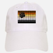 BEAR PRIDE FLAG/BASKETWEAVE Baseball Baseball Cap