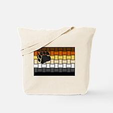 BEAR PRIDE FLAG/BASKETWEAVE Tote Bag