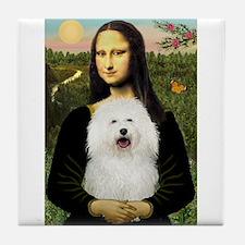 Mona/Bolognese Tile Coaster