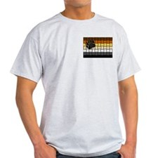 BEAR PRIDE FLAG/BASKETWEAVE T-Shirt