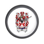 Neal Family Crest Wall Clock