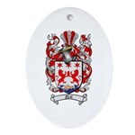 Neal Family Crest Oval Ornament