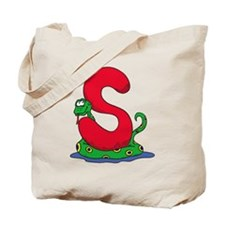 S Is For Snake Tote Bag
