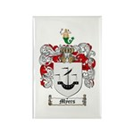 Myers Family Crest Rectangle Magnet (10 pack)