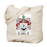 Myers Family Crest Tote Bag