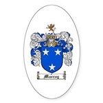Murray Family Crest Oval Sticker