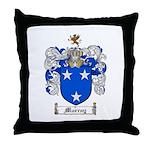 Murray Family Crest Throw Pillow