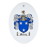 Murray Family Crest Oval Ornament