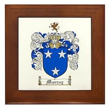 Murray Family Crest Framed Tile