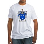 Murray Family Crest Fitted T-Shirt
