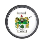Murphy Family Crest Wall Clock
