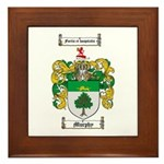 Murphy Family Crest Framed Tile