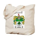 Murphy Family Crest Tote Bag