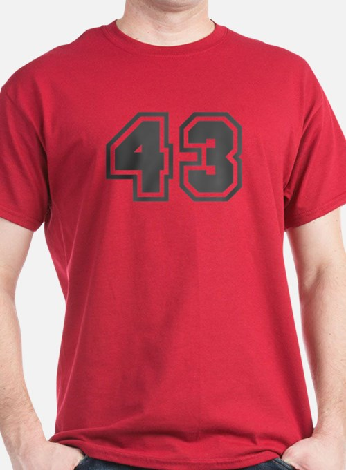 Number 43 T-Shirt