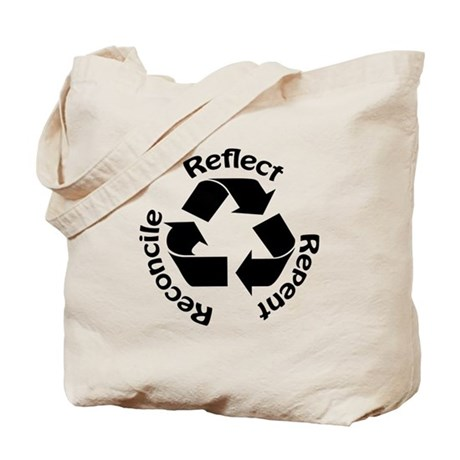 Reconcile Christian Tote Bag