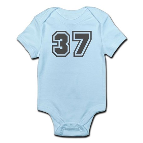 Number 37 Infant Bodysuit