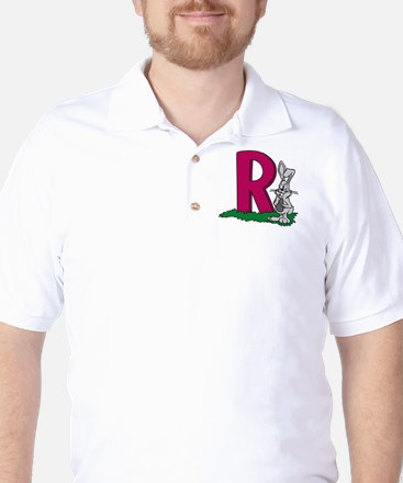 R Is For Rabbits Golf Shirt