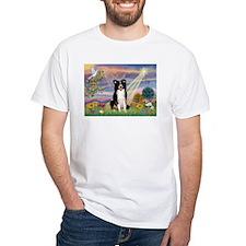 Cloud Angel Border Collie Shirt