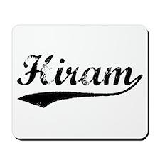 Vintage Hiram (Black) Mousepad