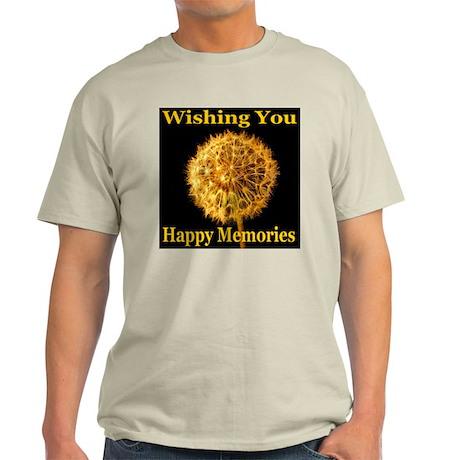 Wishing You Happy Memories Light T-Shirt