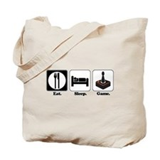 Eat. Sleep. Game. (Gamer/Video Games) Tote Bag