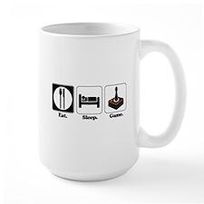 Eat. Sleep. Game. (Gamer/Video Games) Mug