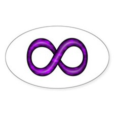 Purple Infinity Symbol Decal