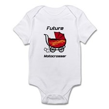 Future Motocrosser Stroller Infant Bodysuit
