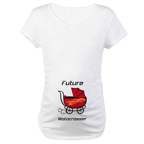 Future Motocrosser Stroller Maternity T-Shirt